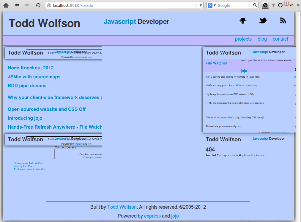 snapshot.js working